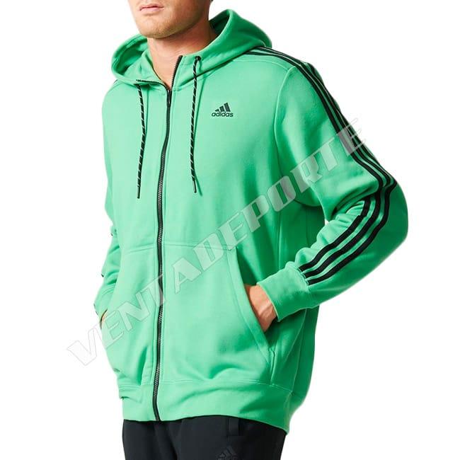 adidas sudadera hombre verde